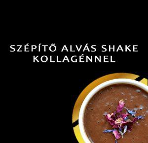 SZÉPÍTŐ ALVÁS SHAKE KOLLAGÉNNEL-